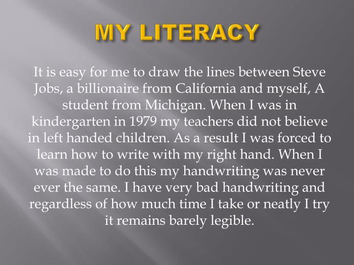MY LITERACY