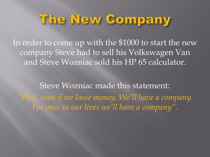 The New Company