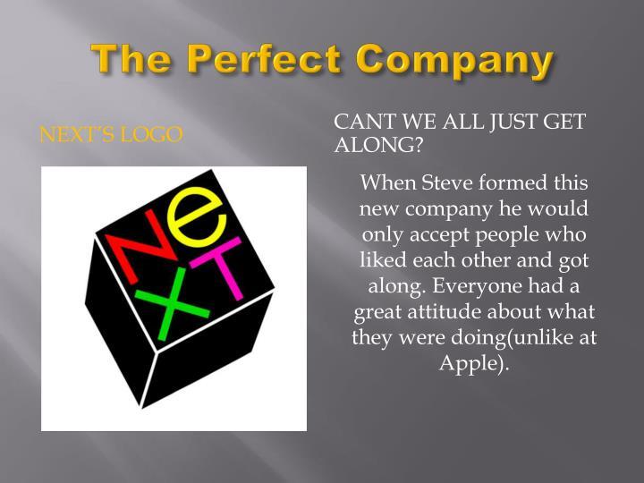 The Perfect Company