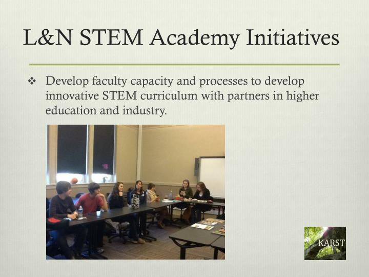 L&N STEM Academy Initiatives