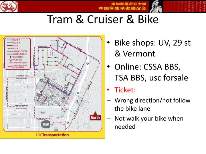 Tram & Cruiser & Bike