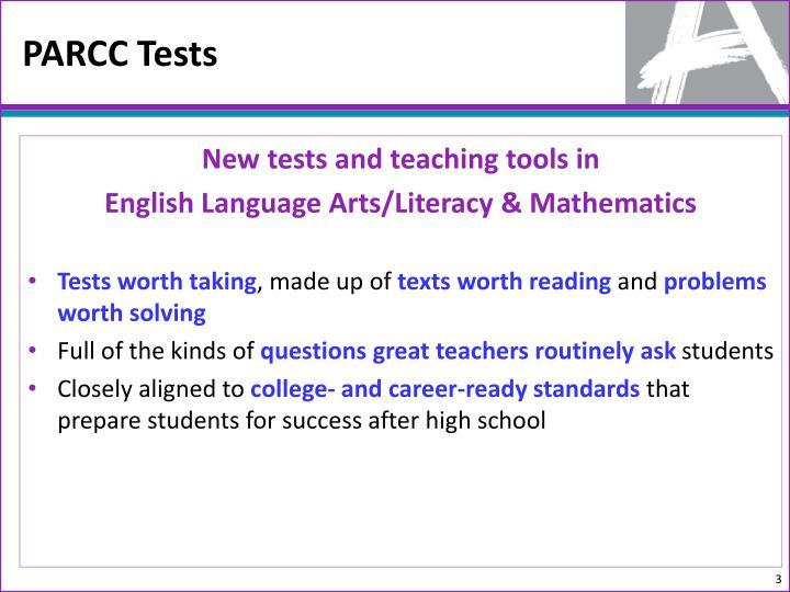 PARCC Tests