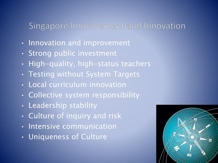 Singapore Improvement and Innovation