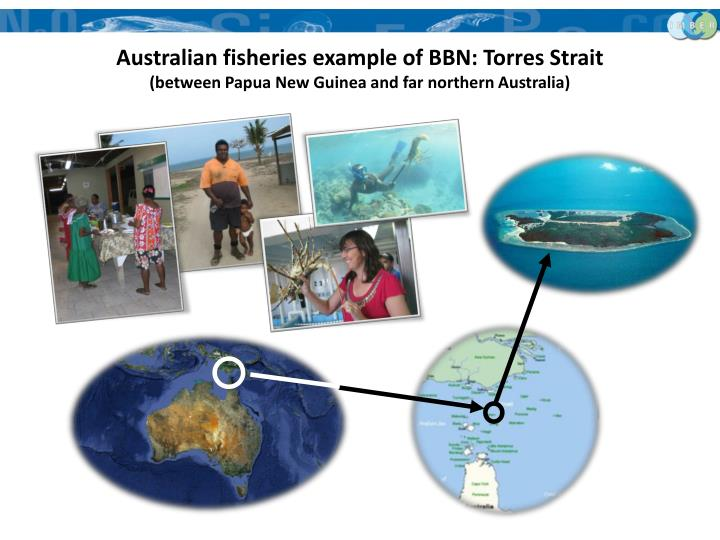 Australian fisheries example of BBN: Torres Strait