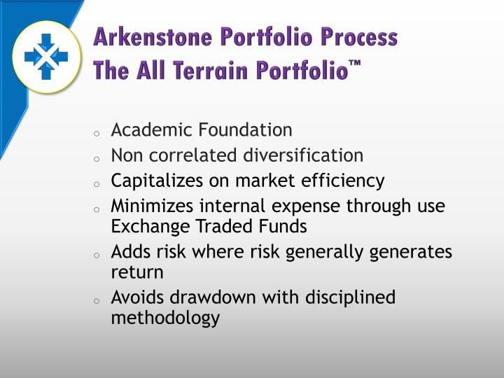 Arkenstone Portfolio Process