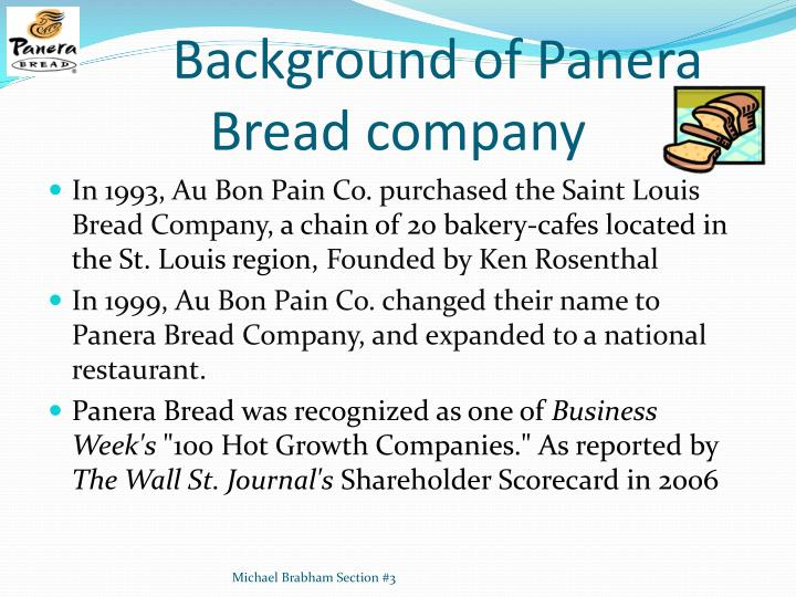 panera bread strategy essays Panera bread essays:  and named them panera bread the position that panera moved into is depicted in the graphic titled positioning strategy of various.