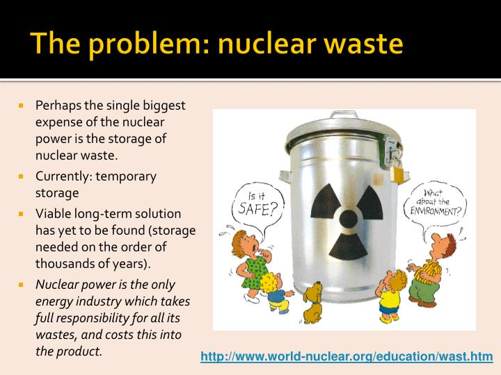 The problem: nuclear waste