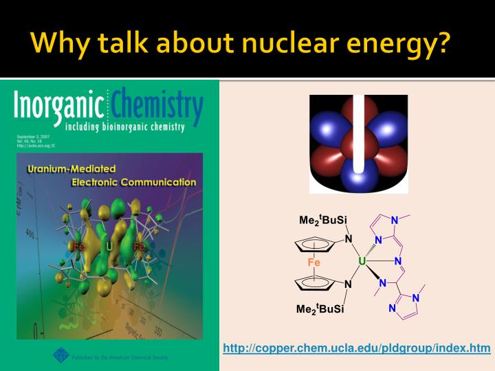 Why talk about nuclear energy?