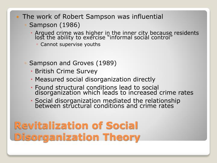evolution of social disorganization and organized crime The term social disorganization is stated to be an inability ghost writing essays how does social disorganization relate to organized crime and its evolution.