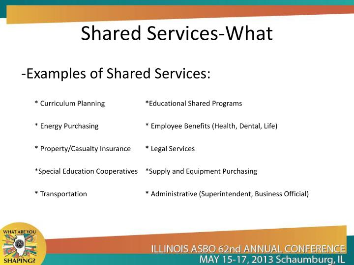 Shared Services-What