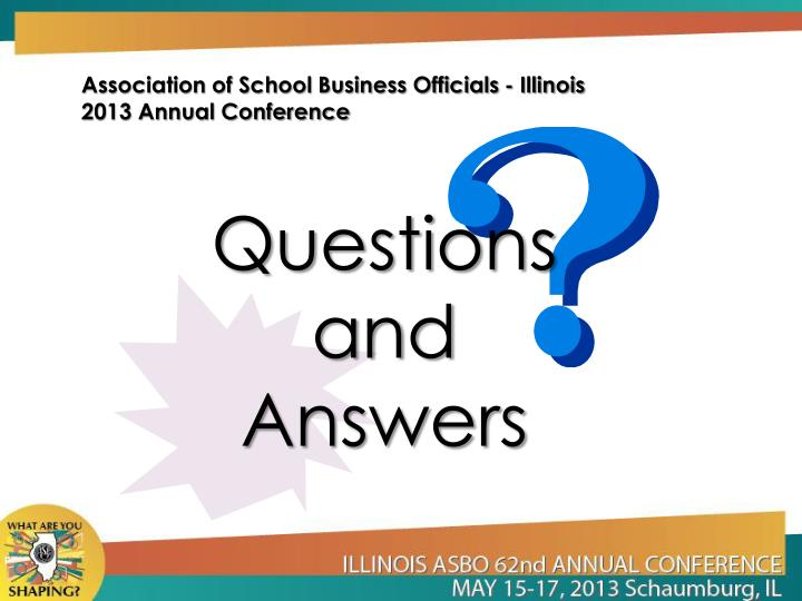 Association of School Business Officials - Illinois