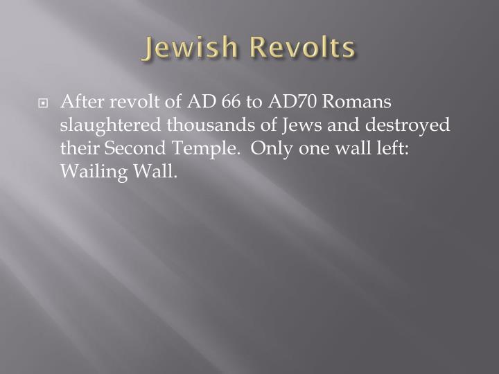 Jewish Revolts