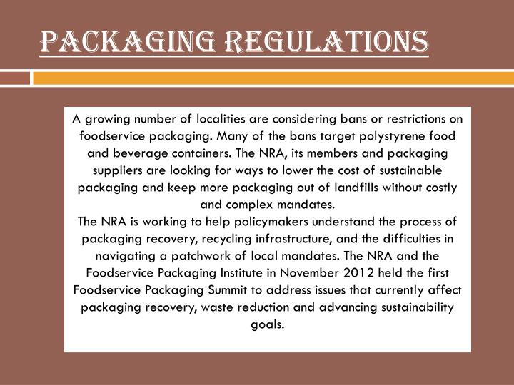 Packaging Regulations