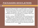 packaging regulations