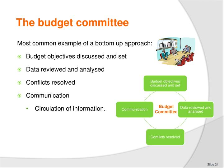 The budget committee