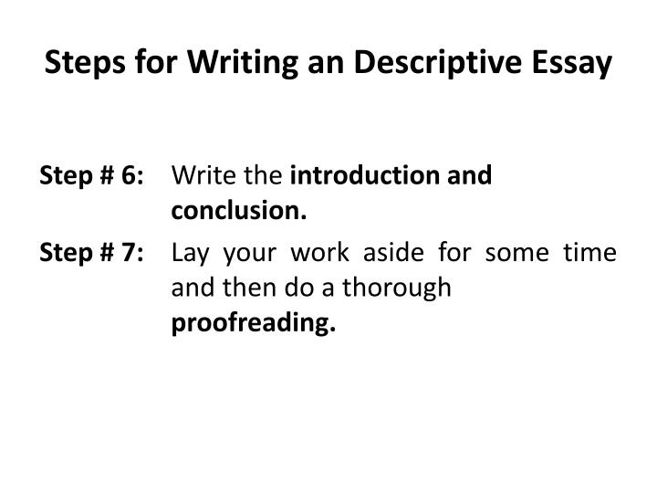 5 steps to writing a good essay How to write the perfect essay in 9 easy steps is an excerpt from the book instant learning for amazing grades.