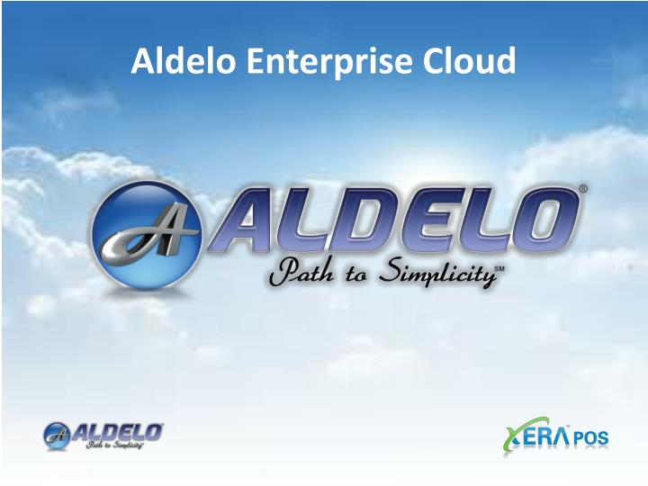 Aldelo Enterprise Cloud