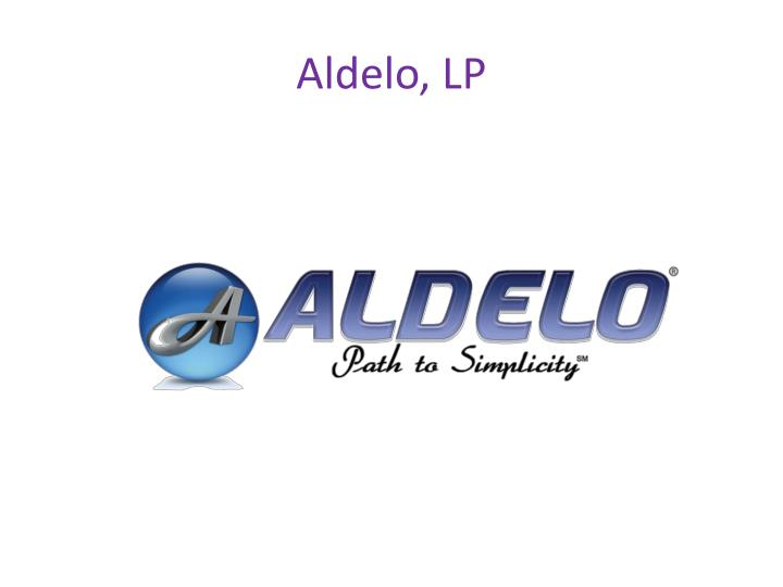 Aldelo, LP