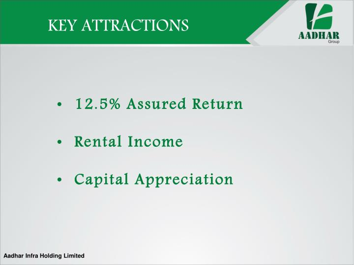 KEY ATTRACTIONS