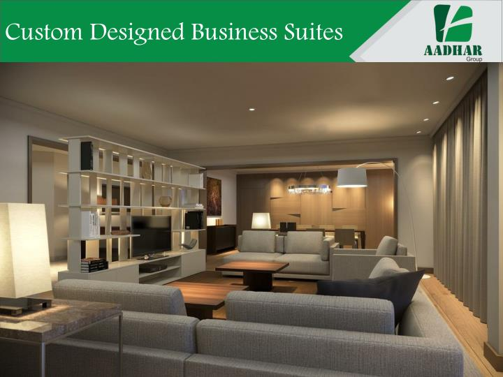 Custom Designed Business Suites