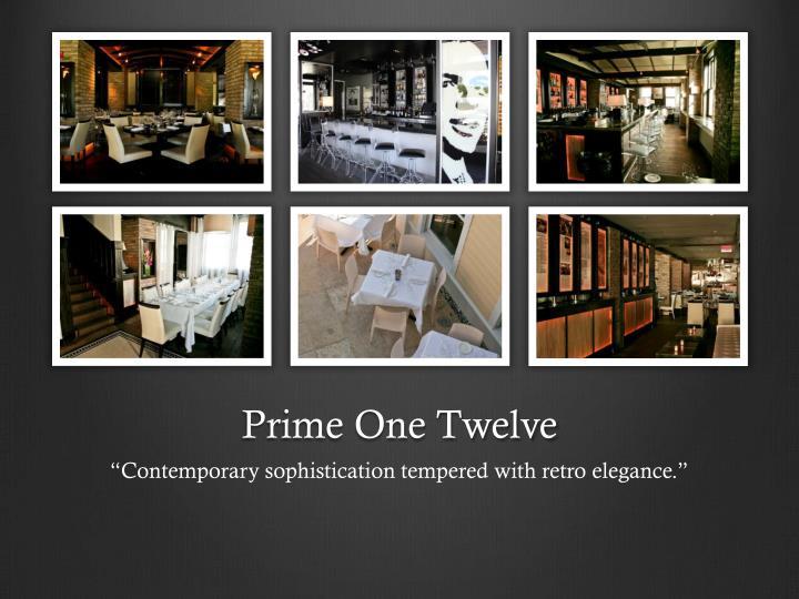 Prime One Twelve
