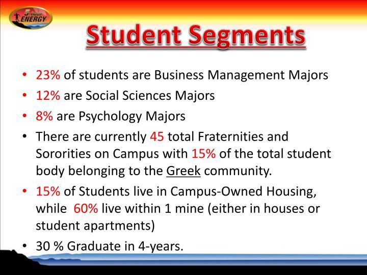 Student Segments