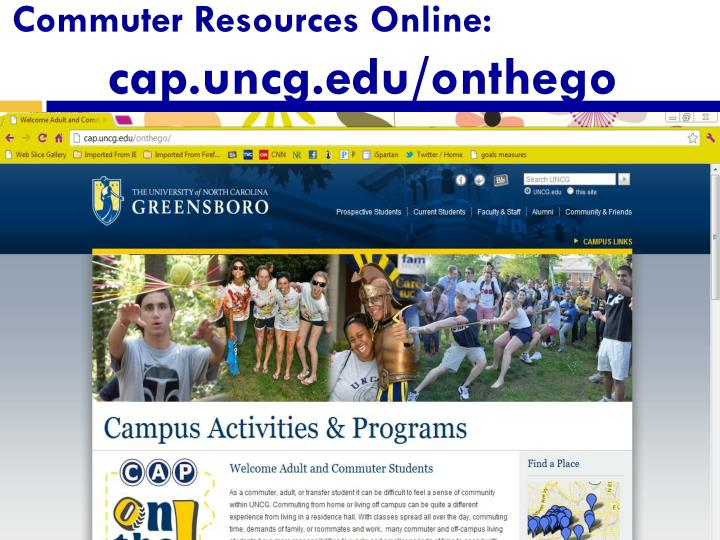 Commuter Resources Online: