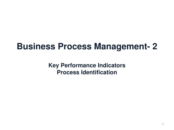 Business Process Management-