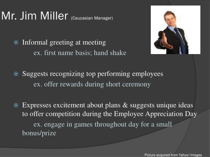 Mr. Jim Miller