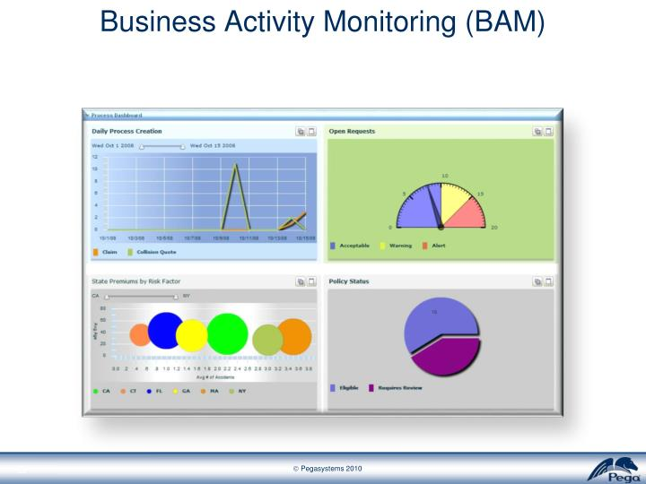 Business Activity Monitoring (BAM)