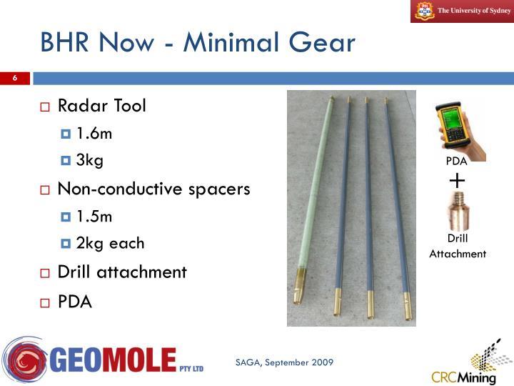 BHR Now - Minimal Gear