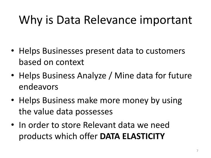Why is Data Relevance important
