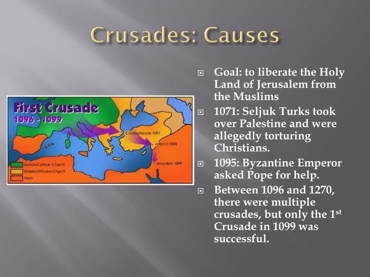 Crusades: Causes