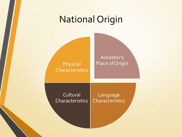 National Origin