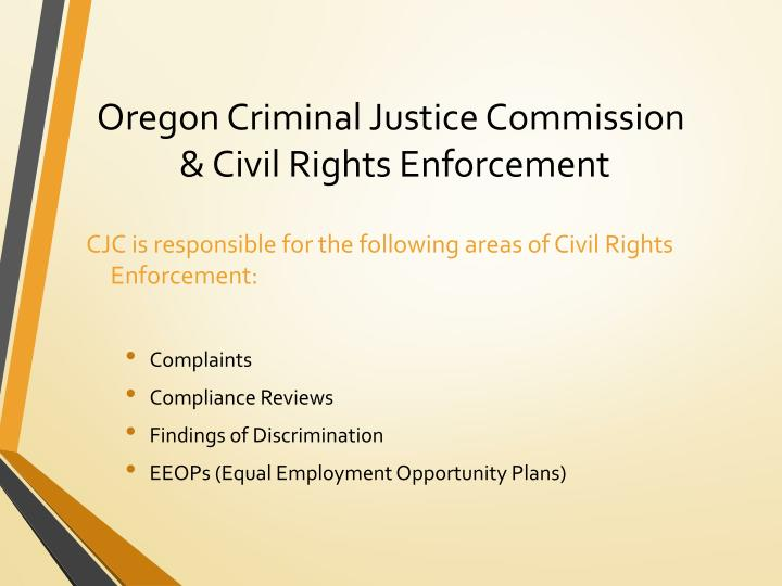 Oregon Criminal Justice Commission