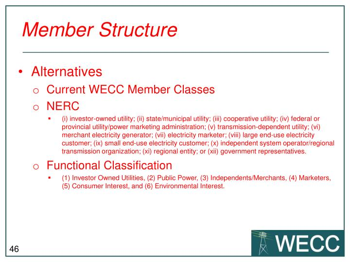 Member Structure