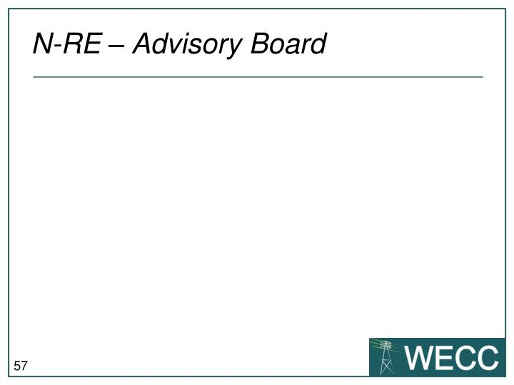 N-RE – Advisory Board