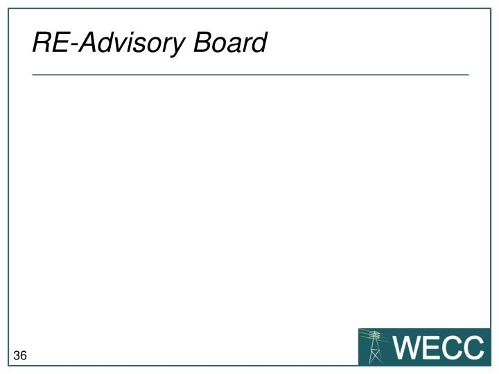 RE-Advisory Board