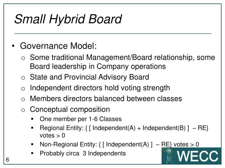 Small Hybrid Board