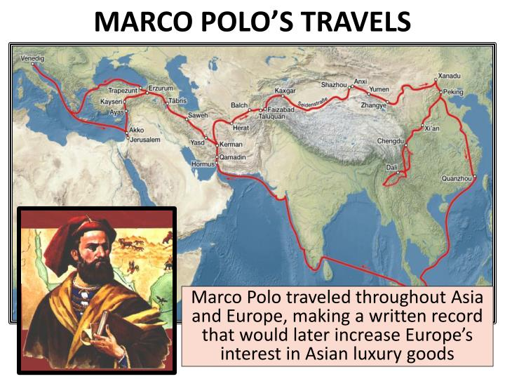 MARCO POLO'S TRAVELS
