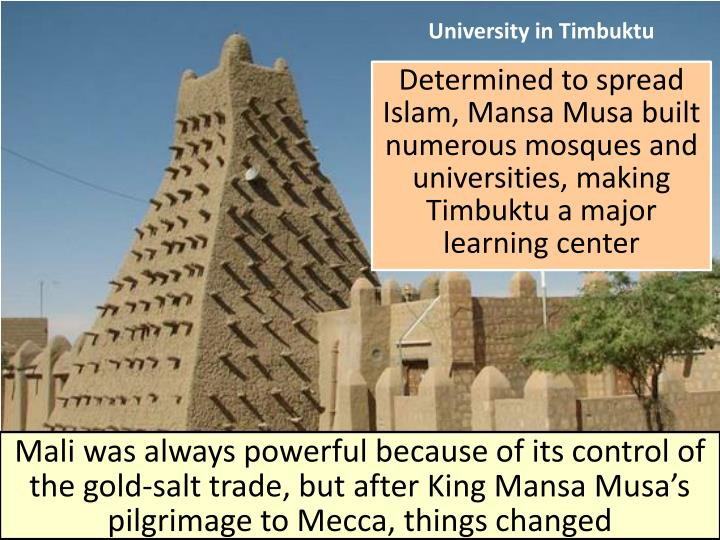University in Timbuktu