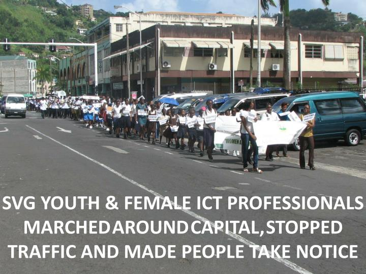 SVG YOUTH & FEMALE ICT PROFESSIONALS