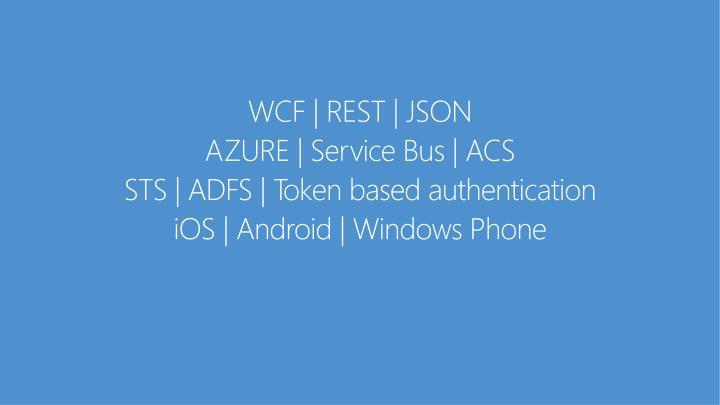 WCF | REST | JSON
