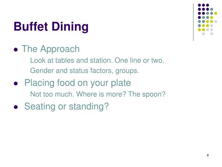 Buffet Dining