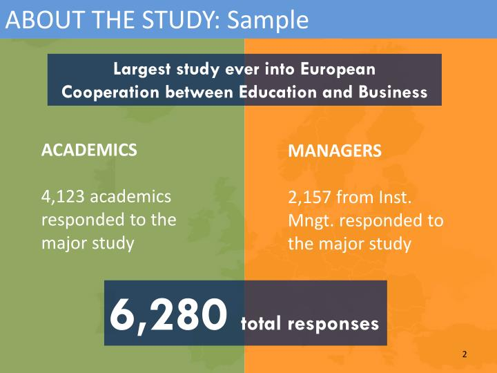 ABOUT THE STUDY: Sample