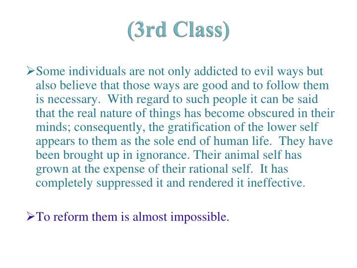 (3rd Class)