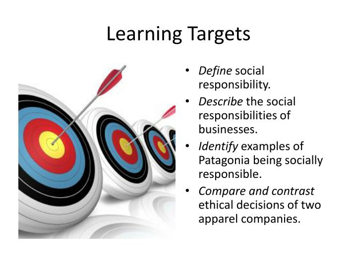compare and contrast ethics and social responsibility Define corporate social responsibility and how to evaluate it along economic, legal, ethical, and discretionary criteria social responsibility is management's obligation to make choices and take actions chapter 5 ethics and social responsibility.