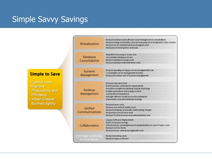 Simple Savvy Savings