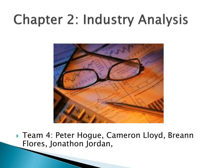 Chapter 2 industry analysis