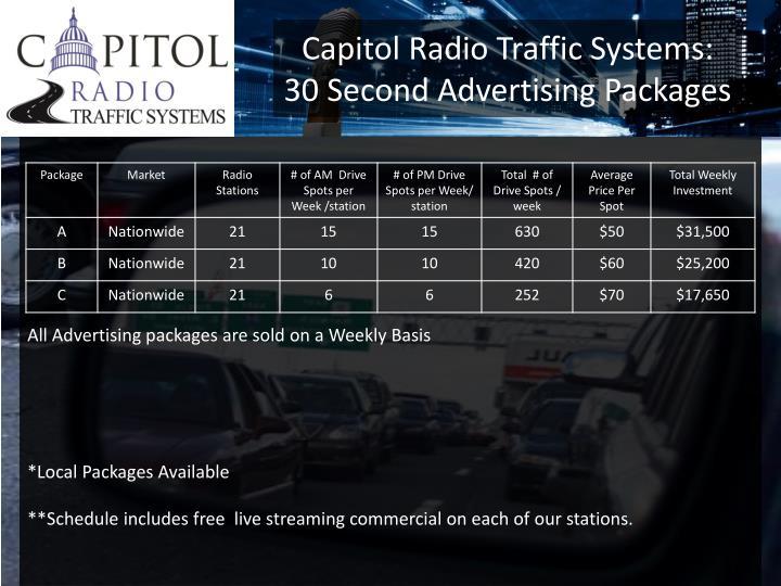 Capitol Radio Traffic Systems:
